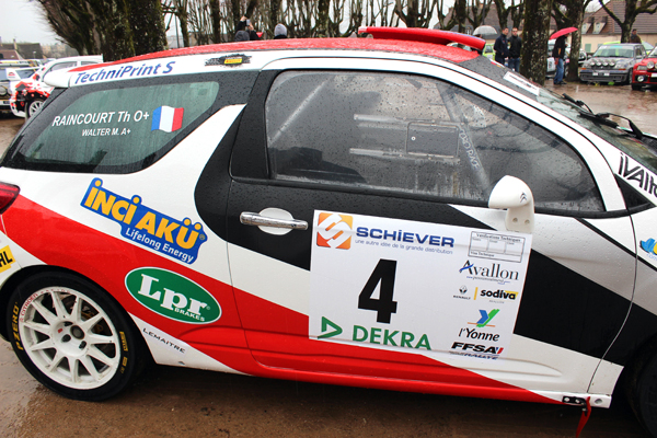 La DS3 R3 Citroën Racing de Mathieu Walter