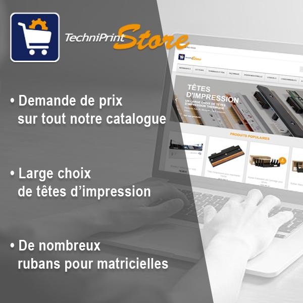 Techniprint Store - Boutique en ligne