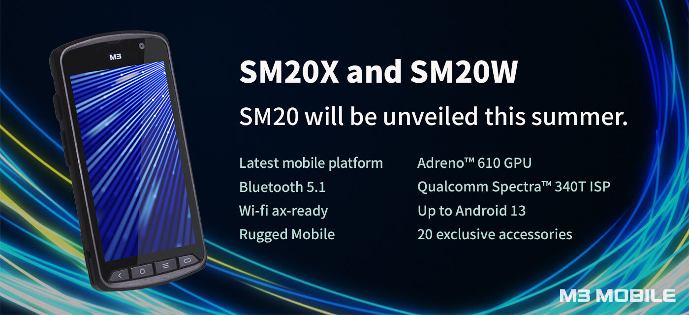 M3 Mobile SM20X et SM20W